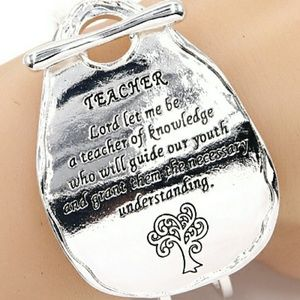 Teacher's Prayer Bracelet
